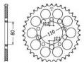 Z�batka JT Sprockets JTR 1334.40, nap�dzana (tylna)