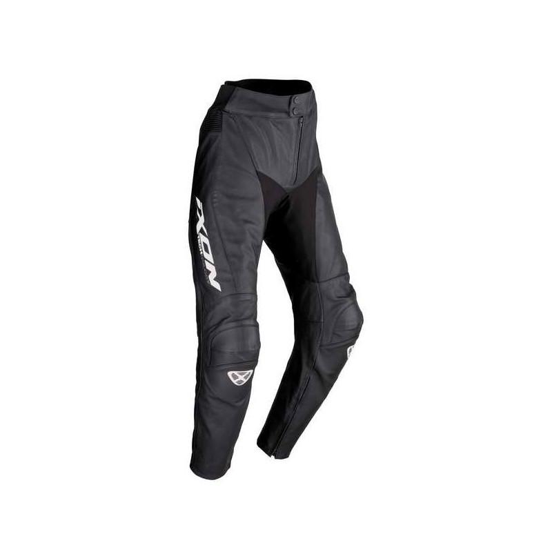 spodnie-skorzane-ixon-fueller-pant-kolor-czarny-bialy